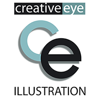 creative eye illustration