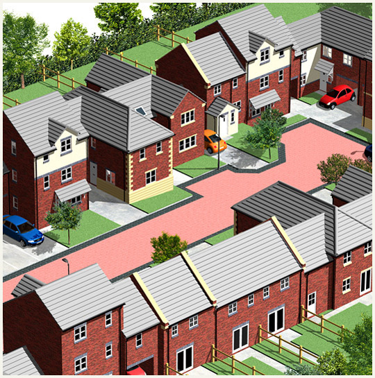 Redrow Homes illustration detail