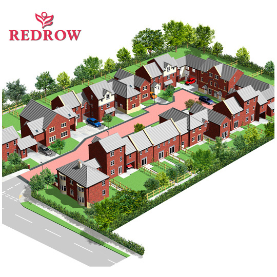 Whitkirk development illustration
